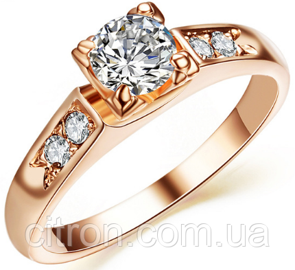 Кольцо с камнем бижутерия Каблучка