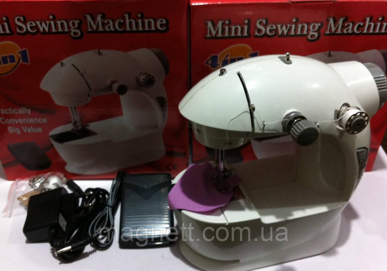 Мини швейная машинка ручная для шитья Mini Sewing Machine