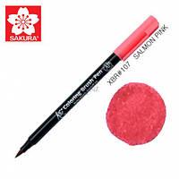 Маркер Koi #107 Brash Pen Sakura Salmon Pink Лососево-Розовый