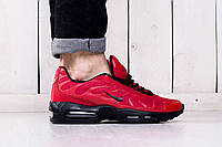 Весенние мужские кроссовки Nike TN+ Red (найк, реплика) (реплика)