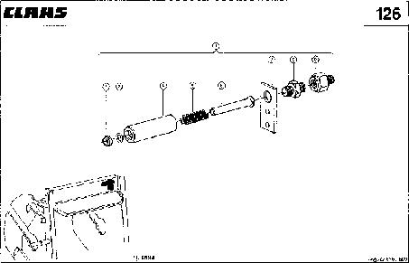 ГИДРОЦИЛИНДР - CLAAS JAGUAR 675 (4)