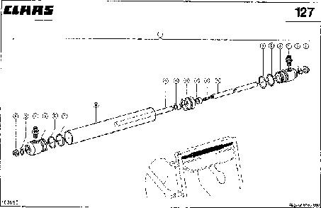 ГИДРОЦИЛИНДР - CLAAS JAGUAR 675 (5)