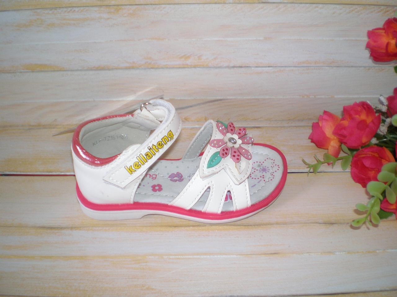 4c9977150 Нарядные белые босоножки для девочки р21 ТМ Kellaiteng - ОбувайКа плюс в  Николаеве