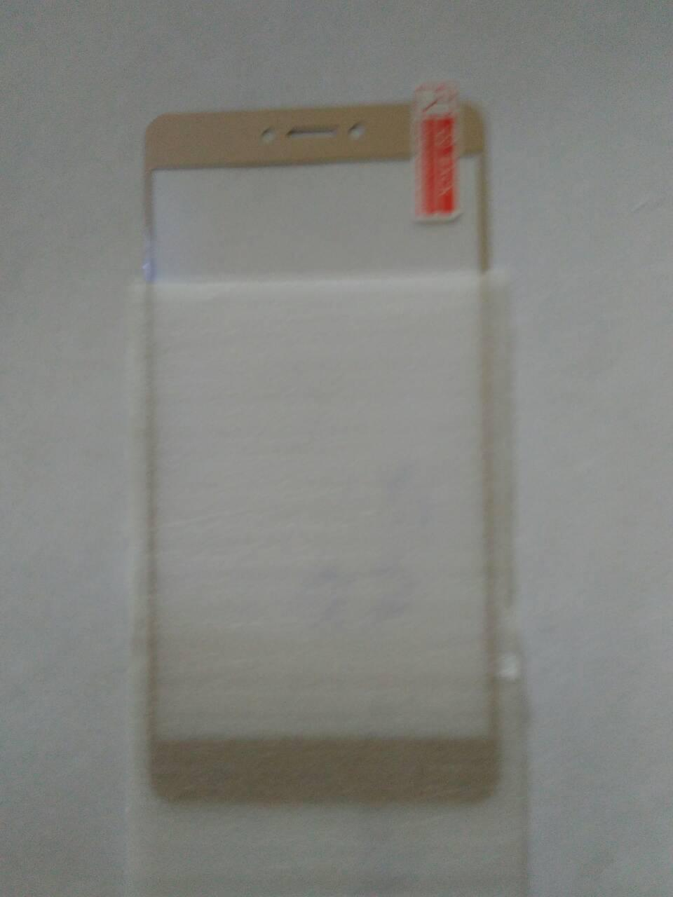 3D защитное стекло Xiaomi redmi note 4X/gold