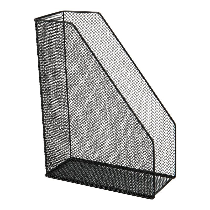 Лоток вертикальный Axent 100x250x320 мм метал черный 2120-01-A