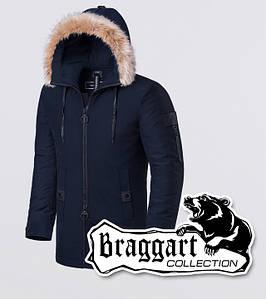 Braggart Black Diamond 9103   Зимняя парка темно-синяя