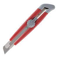 Нож канцелярский Axent 18мм метал направл винтовой фиксатор 6604-A