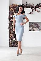 Платье миди в расцветках 24630, фото 1