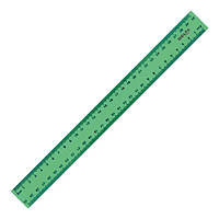 Линейка 30см Axent пластик матовая зеленая D9800-02