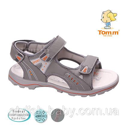 Подростковая летняя обувь. Подростковые босоножки бренда Tom.m для мальчиков (рр.с 36 по 41), фото 2
