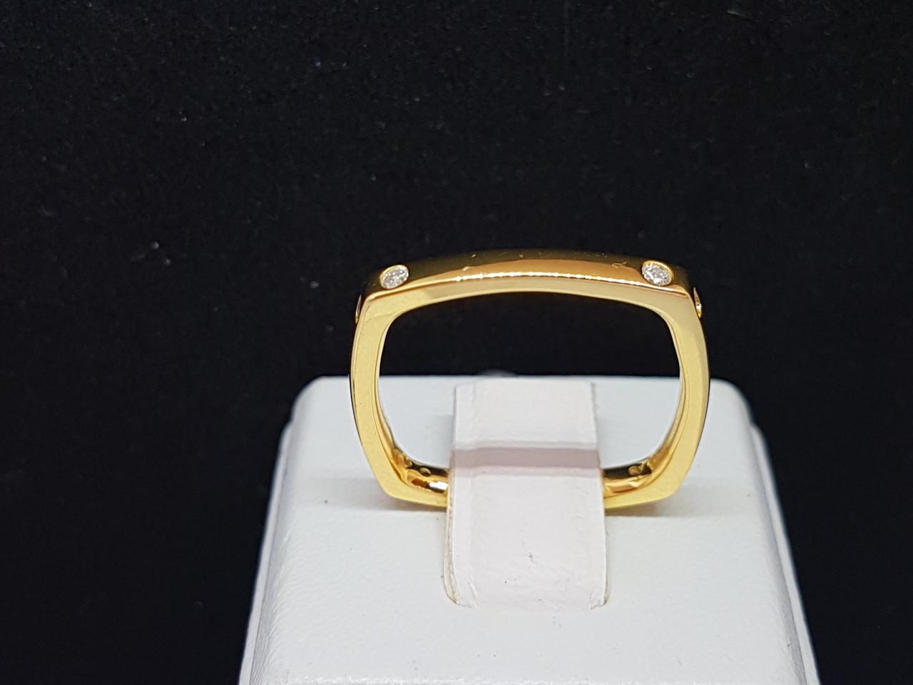 Серебряное кольцо с фианитами. Артикул 55 7 0966Ж