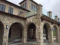 Дом в стиле Модерн Облицованный Камнем в Харькове.Рассрочка