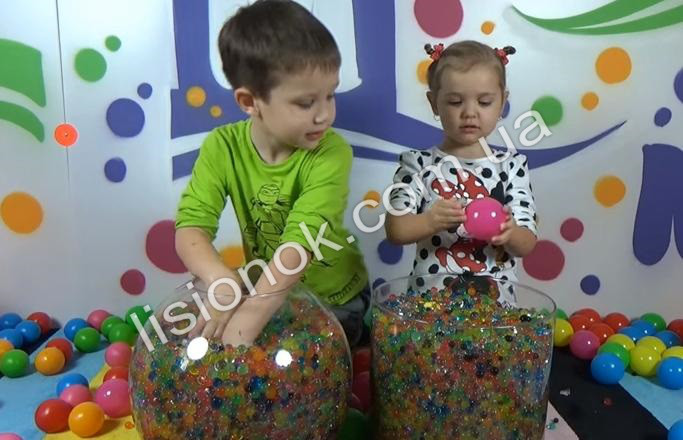 Орбіз 5000 шт. кульки зростаючі у воді, гідрогель, Orbeez, Аквагрунт