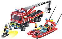 Конструктор Пожарная техника Brick - 907