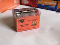 Аккумулятор гелевый с индикатором зарядки  Outdo UTX4L-BS (iGEL), 12V 4Ah/10HR