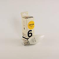 Светодиодная лампа DAYON EMT-1709 C37 6W 3000K E14