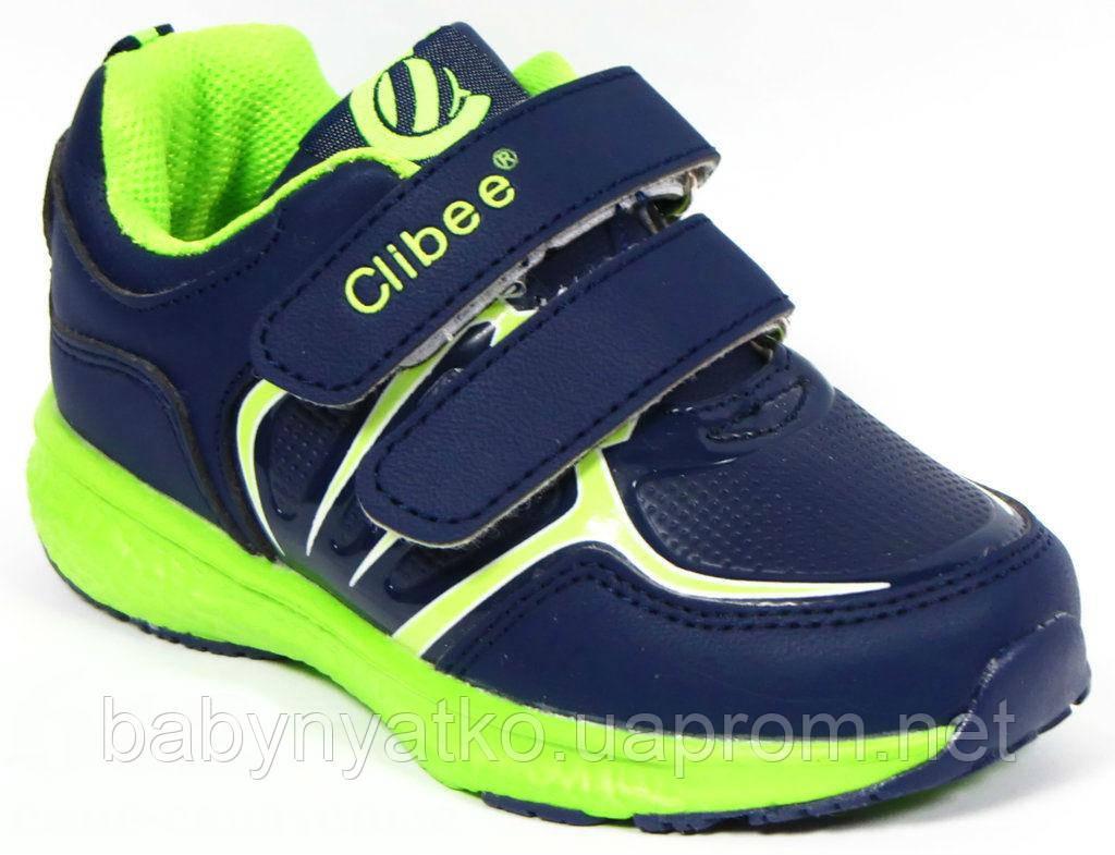 4bfe793f Детские модные яркие качественные кроссовки мальчикам р.26,30,31 с кожаной  ортопед стелькой сине-салатовые