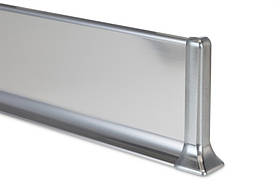 Плинтус металлический Profilpas Metal line 790 нержавеющая сталь, полированный 10х80х2700мм.
