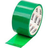 Лента клейкая Axent упаковочная скотч 48ммХ35м 40мкм зеленый 3044-04-A