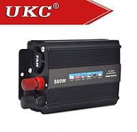 Автомобильный инвертор, преобразователь напряжения UKC 12/220 500w