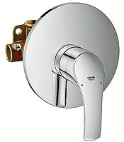 Встроенный смеситель однорычажный для душа Eurosmart 33556002