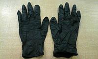 Перчатки нитриловые черные, нестерильные, неопудренные / размер L / NITRYLEX BASIC
