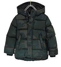Демисезонная камуфляжная куртка для мальчика 5 лет от Zara Испания Размер 110