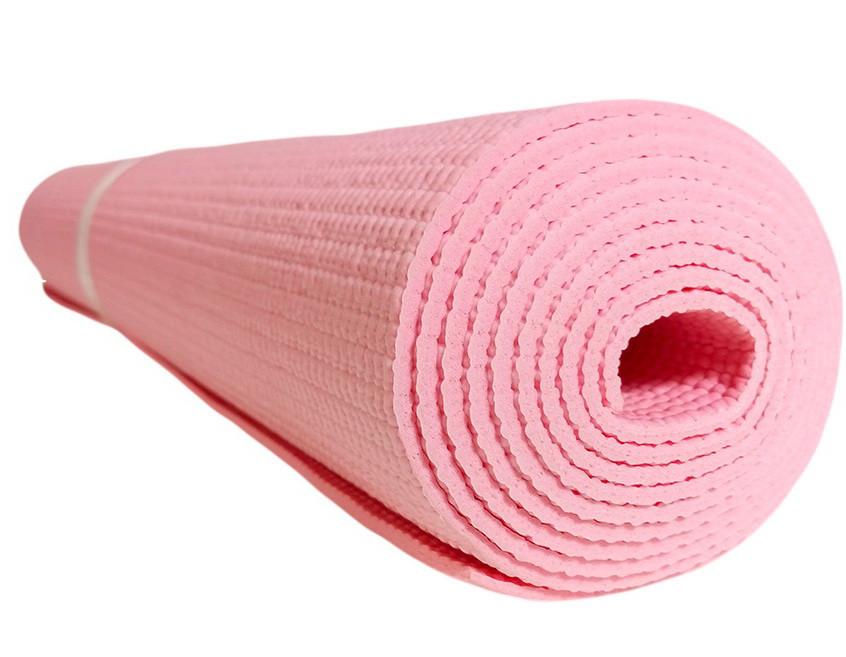 Профессиональный коврик для йоги и фитнеса «Hop-Sport» (PVC) 1730x610x3 мм