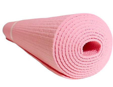 Профессиональный коврик для йоги и фитнеса «Hop-Sport» (PVC) 1730x610x3 мм, фото 2
