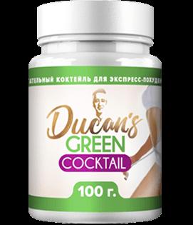 Зелёный коктейль Дюкана - напиток для похудения. Цена производителя. Фирменный магазин.