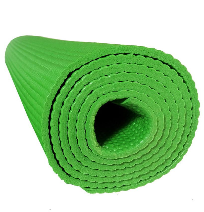 Профессиональный коврик для йоги и фитнеса «Hop-Sport» (PVC) 1730x610x4 мм