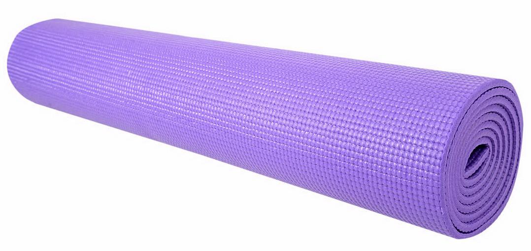 Профессиональный коврик для йоги и фитнеса «Hop-Sport» (PVC) 1730x610x5 мм