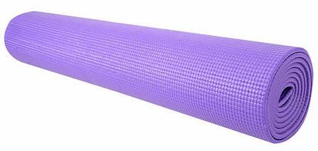 Профессиональный коврик для йоги и фитнеса «Hop-Sport» (PVC) 1730x610x5 мм, фото 2