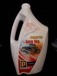 Концентрат охлаждающей жидкости PRISTA Long Life G12+ (красный) 4л
