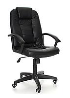 Офисное кресло компьютерное EKO 7410 Эко кожа Механизм TILT Черное
