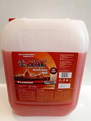 Охлажд. жидкость  Антифриз  NAC PREMIYM (-42)  красный  10кг