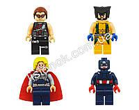 Супер-герои Lego поштучно