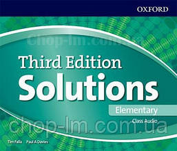Solutions Third Edition Elementary Class Audio / Аудио диск
