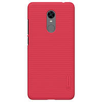 Чехол-бампер Nillkin Super Frosted Shield Red для Xiaomi Redmi 5 Plus