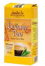 Чай зеленый Westminster Gruner Tee Zitrone 250 г