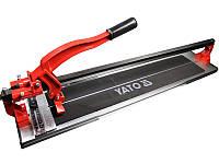Ручной плиткорез YATO 800 мм YT-3708 рельсовый
