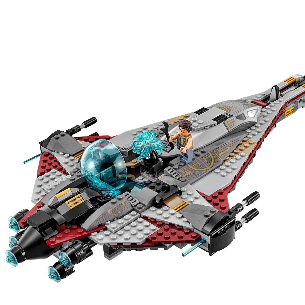 Конструктор Lepin Звездолёт Стрела (Серия Star Plan)  800 дет.