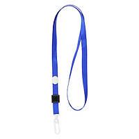 Шнурок для бейджа Axent с карабином синий 4531-02-A