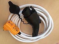 Зарядка для Nissan. Зарядное устройство J1772 16A Nissan Leaf - 7м, автоматическое с УЗО
