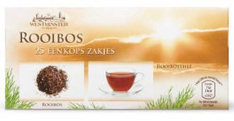 Чай Westminster Rooibos 25 пакетов