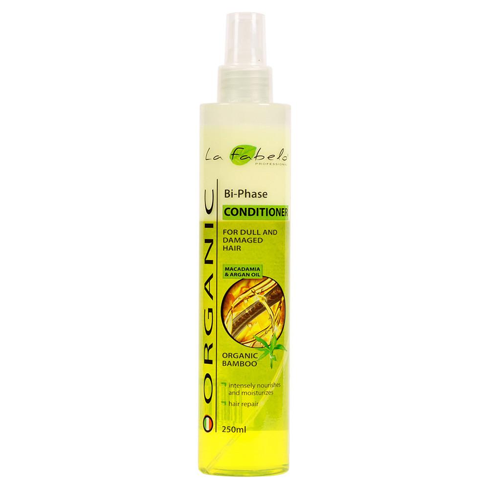 Двухфазный питательный кондиционер спрей для волос La Fabelo Organic Bi-Phase Conditioner 250 мл (01490105201)