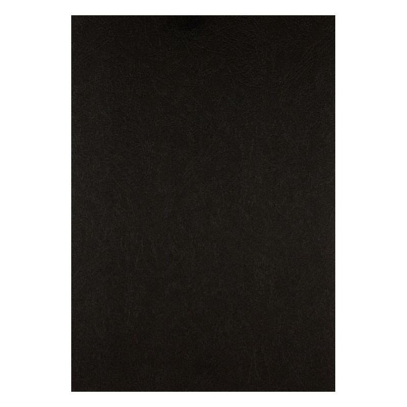 Обкладинка для брошуровщика Axent А4 під шкіру картон 50шт чорна 2730-01-A