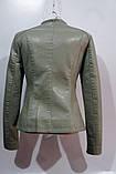 Куртка женская кожзам, фото 2
