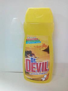 Dr. Devil 3в1  WCgel 400мл гель для туалета Лимон (6055)