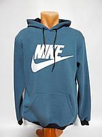 Мужская теплая толстовка Nike реплика  р.50 040SMT